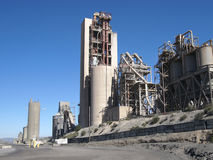 Cement Company Royalty Free Stock Photo
