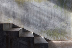 Cement concrete staircase Stock Image