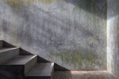 Cement concrete staircase Stock Photography
