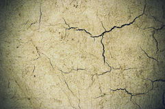 Cement cracked background Stock Images