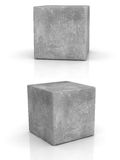 Cement cubes Royalty Free Stock Image