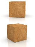 Cement cubes Stock Images
