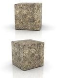 Cement cubes Stock Photo