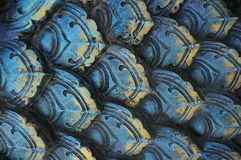 Cement dragon skin texture Royalty Free Stock Photo