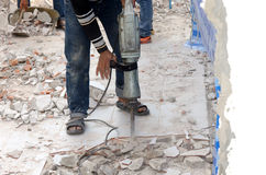 Cement drilling Stock Images