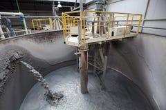 cement fabriken royaltyfri fotografi