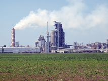 Cement factory. Stock Photos