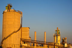 Free Cement Factory Stock Image - 36145191