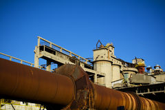 Cement factory Stock Photography