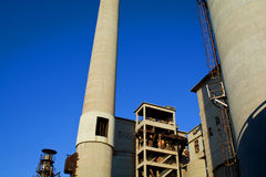 Cement factory Royalty Free Stock Images