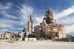 Free Cement Factory Stock Photography - 52694142