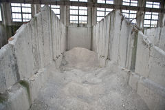 Cement Factory Royalty Free Stock Photos