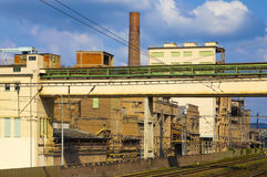Cement factory, Czech Republic Royalty Free Stock Photography