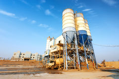 Cement factory machinery Stock Images