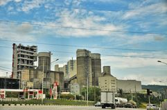 Cement factory Royalty Free Stock Photography