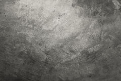 Cement floor with black tone,loft style. Stock Image