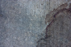 The cement floor, blood stains Stock Images