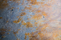 Cement floor. Rust The area is perfect for background Royalty Free Stock Image