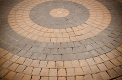 Cement floor tiled Royalty Free Stock Photos