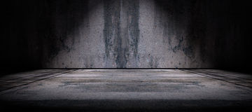 Cement floor and wall background Royalty Free Stock Photo