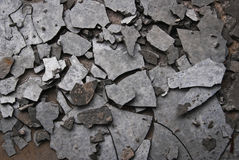 Cement fracture Stock Image