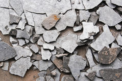 cement fracture Stock Photography