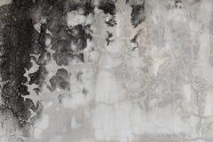 Cement gebarsten muur Stock Fotografie