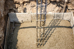 Cement for home building Royalty Free Stock Image