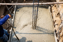 Cement for home building Royalty Free Stock Photography