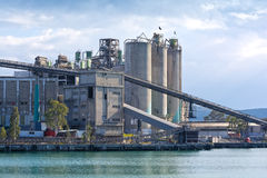 Cement industry Stock Images