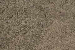 Cement light brown wall background Royalty Free Stock Photography