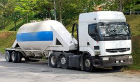 Cement lorry Royalty Free Stock Image