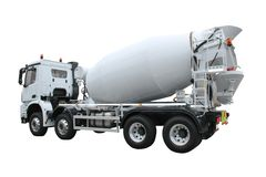 Cement Lorry. Stock Image
