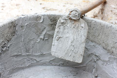 Cement mix Stock Image