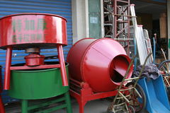Cement mixer Stock Photography