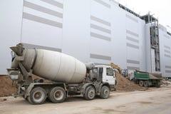Cement-mixer Royalty Free Stock Photos