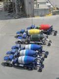 Cement Mixer Lorry Stock Photo