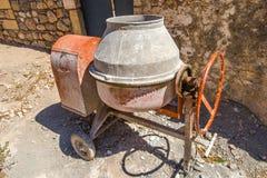 Cement mixer Stock Image