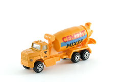 Cement mixer toy Royalty Free Stock Photography