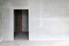 Cement nowa ściana Zdjęcia Royalty Free