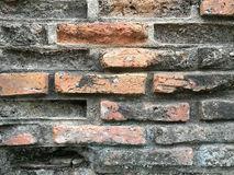 Cement and old brick background Stock Photography