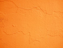 Cement orange background Royalty Free Stock Photo