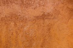 Cement orange background Royalty Free Stock Images
