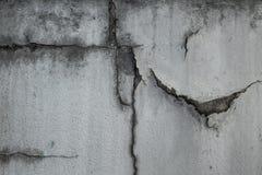 cement pękający obrazy stock