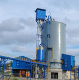 Cement packing plant Stock Image