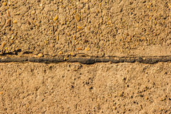 Cement pathway Royalty Free Stock Photos