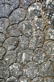 Cement pattern stones wall grunge abstract texture Stock Photography