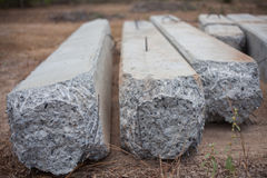 Cement pile Royalty Free Stock Images