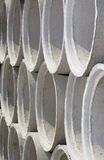 Cement pipes Royalty Free Stock Photography