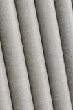 Cement pipes of stone Royalty Free Stock Image